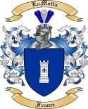 LaMotta Family Crest from France2