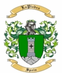 LaPiedra Family Crest from Spain