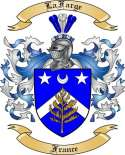 La Farge Family Crest from France