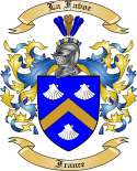 La Favor Family Crest from France