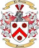 La Gouin Family Crest from France2