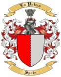 La Palma Family Coat of Arms from Spain