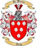 La Penna Family Coat of Arms from Italy2