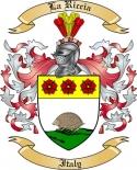 La Riccia Family Coat of Arms from Italy2