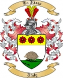 La Rizza Family Crest from Italy2