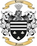 Lacayo Family Coat of Arms from France