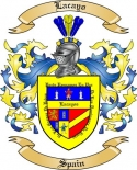 Lacayo Family Coat of Arms from Spain