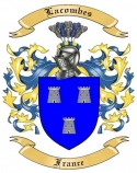 Lacombes Family Crest from France2