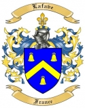 Lafave Family Crest from France
