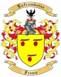 Laframboise Family Crest from France