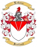 Lahore Family Crest from Scotland