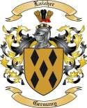 Laicher Family Coat of Arms from Germany
