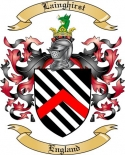 Lainghirst Family Crest from England