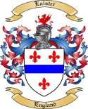 Laister Family Crest from England