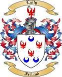 Lally Family Coat of Arms from Ireland