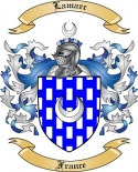 Lamarc Family Coat of Arms from France