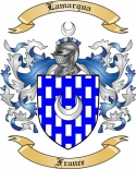 Lamarqua Family Crest from France