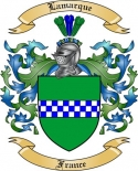 Lamarque Family Crest from France2