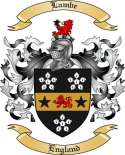 Lambe Family Coat of Arms from England