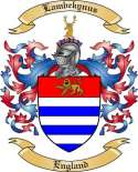 Lambekynus Family Coat of Arms from England