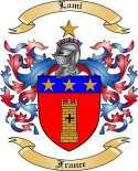 Lami Family Coat of Arms from France
