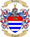 Lamkin Family Coat of Arms from England
