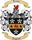 Lamm Family Coat of Arms from England