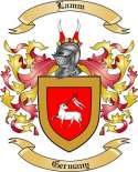 Lamm Family Coat of Arms from Germany