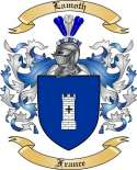 Lamoth Family Coat of Arms from France2