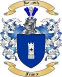 Lamotte Family Crest from France2