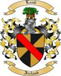 Land Family Coat of Arms from Ireland