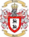 Landa Family Coat of Arms from Spain