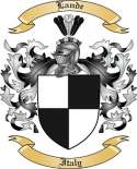 Lande Family Coat of Arms from Italy2