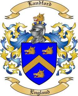 Landford Family Coat of Arms from England
