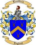 Landford Family Crest from England2