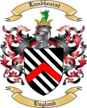 Landhearst Family Crest from England