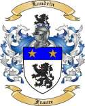 Landrin Family Coat of Arms from France
