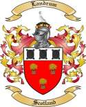 Landrum Family Coat of Arms from Scotland