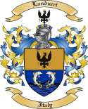 Landucci Family Crest from Italy