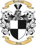 Landuzzi Family Coat of Arms from Italy2