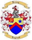 Laney Family Crest from England