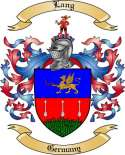 Lang Family Coat of Arms from Germany
