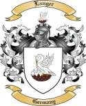 Langer Family Crest from Germany2