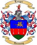Langer Family Crest from Germany