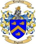 Langford Family Crest from England3