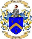 Lansforde Family Crest from England2
