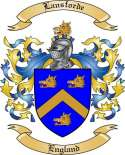 Lansforde Family Crest from England