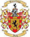 Lanzalunga Family Coat of Arms from Italy