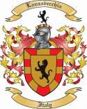 Lanzavecchia Family Coat of Arms from Italy