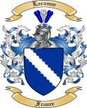 Laramee Family Crest from France2